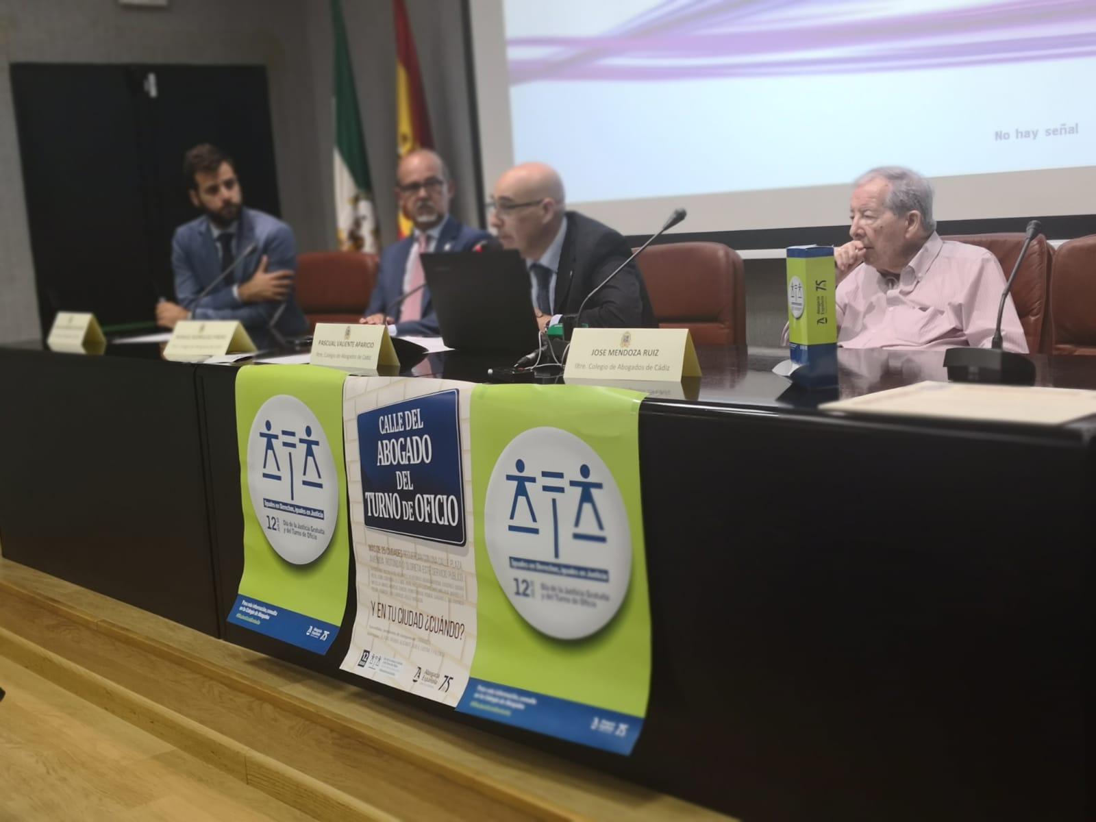 El Colegio De Abogados De Cádiz Celebra El Día De La Justicia Gratuita Con Un Aumento Del Número De Expedientes Tramitados