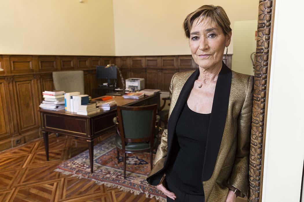 La Primera Presidenta Del Consejo General De La Abogacía Española, Victoria Ortega Benito.
