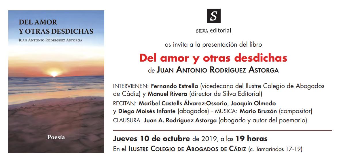 Presentación Del Libro: 'Del Mar Y Otras Desdichas'