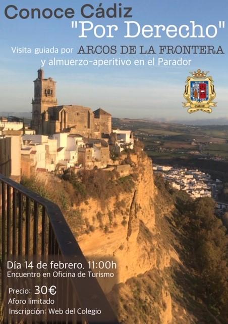El Colegio Organiza Una Visita Guiada Cultural A Arcos De La Frontera