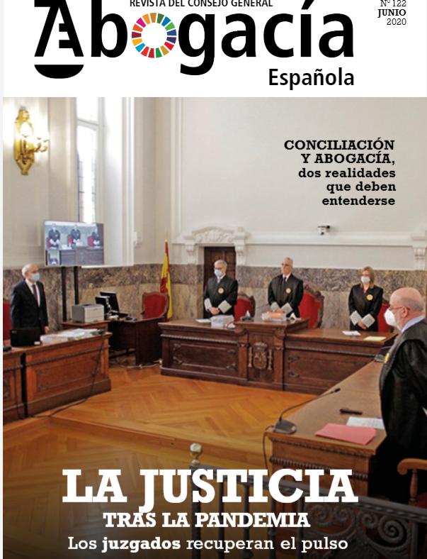 Nuevo Número De La Revista Del Consejo De La Abogacía Española